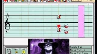 "Mario Paint - ""Rest in Peace"" (Undertaker WWE Theme - Redo)"