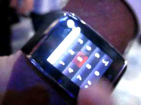 LG Watch Phone GD910 hands-on at CES 2009