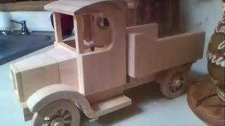 Old Time Dump Truck build
