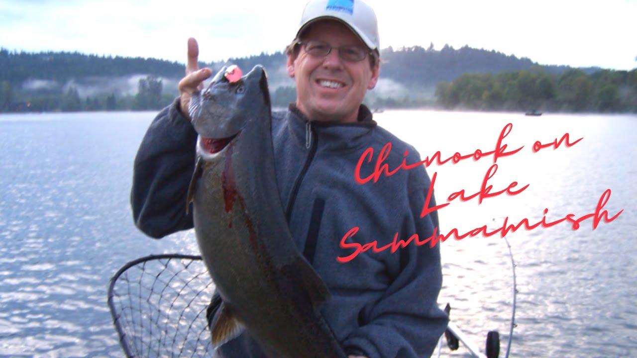 Lake sammamish king salmon 2011 youtube for Lake sammamish fishing