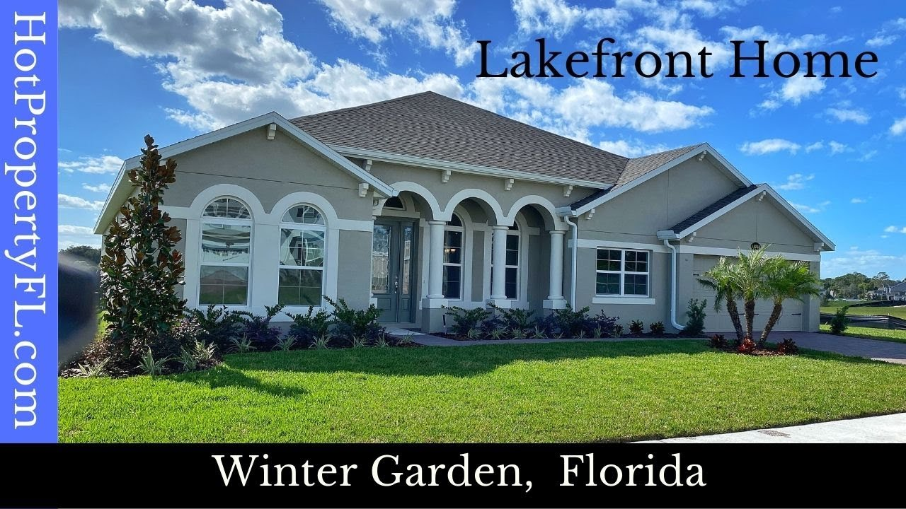 New Home Tour   Winter Garden / Orlando FL   M/I Homes, Sanctuary at Twin Waters   Brookhaven Model