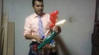 Sirena : Aprenda hacer figuras de globos. Learn to make balloon figures Vinny the twister