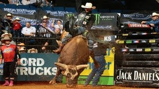 Mauney conquers Bushwacker for 95.25 points (BROADCAST VERSION)