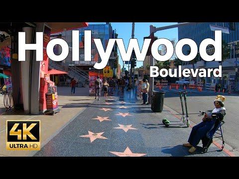 HUNTINGTON BEACH - Walking Huntington Beach, Orange County, Los Angeles, California, USA - 4K UHD