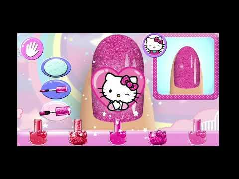 Anaya is playing…hello kitty nail salon in ANAYA'S WORLD   Salon và các thông tin mới nhất