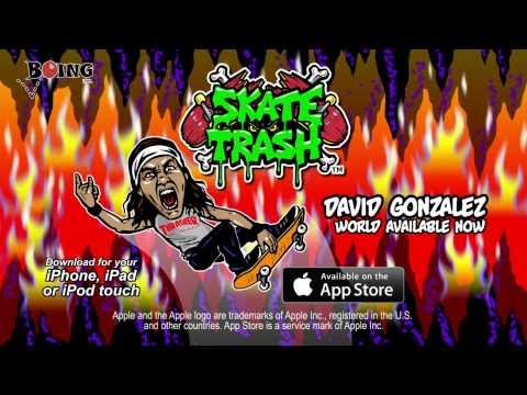 Skate Trash Trailer - David Gonzalez (15s)