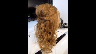 Romantyczna fryzura z lokami|| Studniówka|| Karnawał|| Osiemnastka