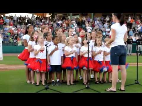 Texas Stars Youth Choir Skeeters Game