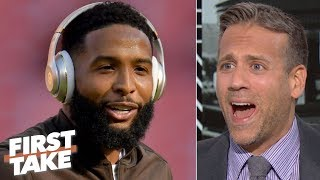 The Giants will regret trading OBJ to the Browns - Max Kellerman | First Take