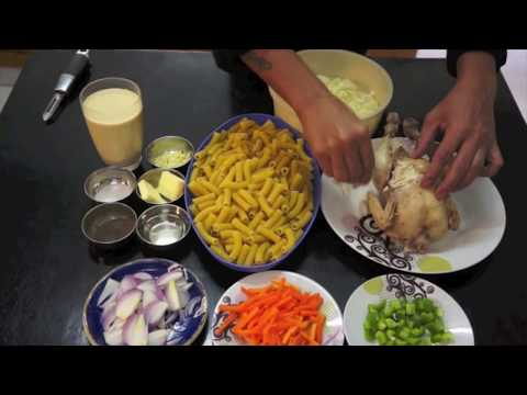 Filipino Sopas - Pinoy Chicken Pasta Soup Recipe  - Philippines