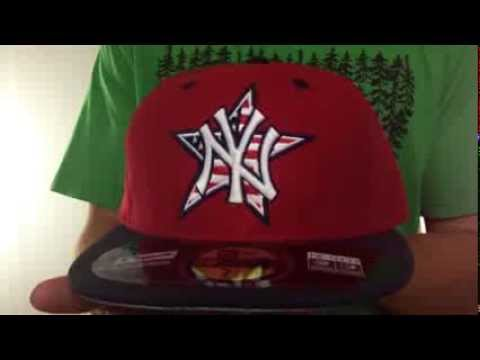 Yankees  2014 JULY 4TH STARS N STRIPES  Hat by New Era - YouTube 49dade298d4