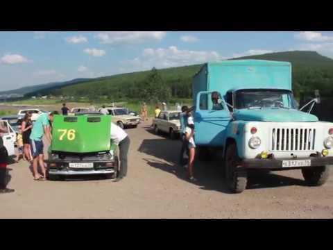 Авто пробег в честь 65 лет г.Усть-Кут и 45 лет БАМу