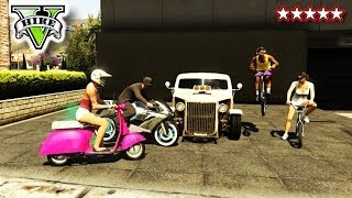 GTA 5 Stunts and Jumps!!! - FreeRoaming With The GTA CREW! - Grand Theft Auto 5