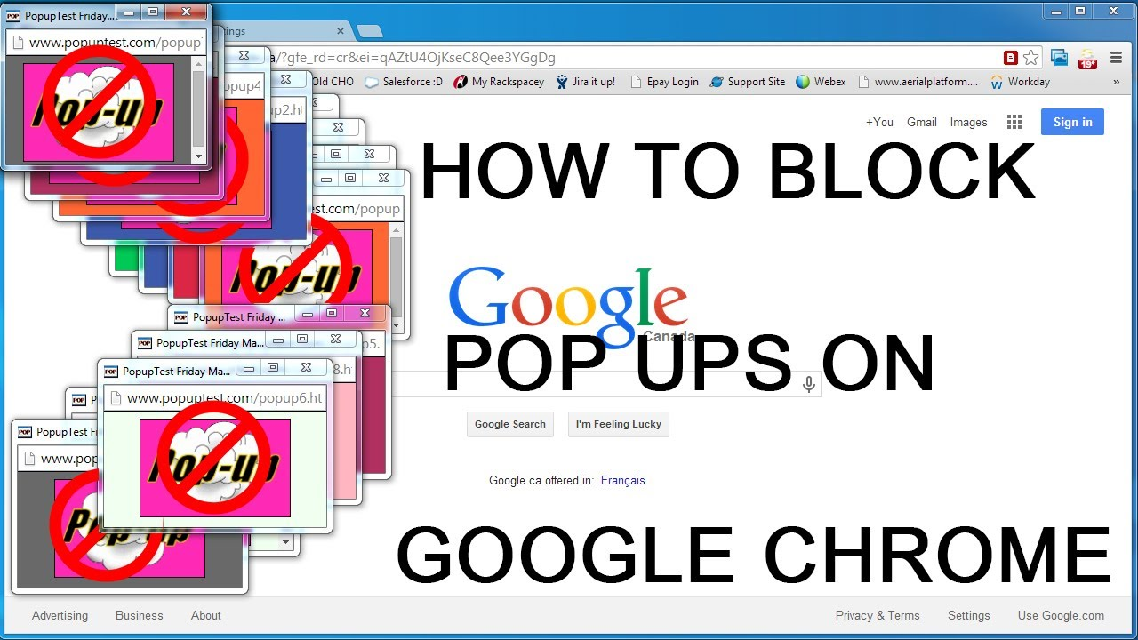 how to stop pop up surveys on google chrome how to block pop ups on google chrome video tutorial easy 1347