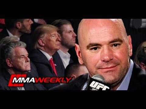 Download Dana White: MMA fans should appreciate that President Donald Trump attended UFC 244