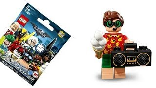 Quick Review: Vacation Robin , The LEGO Batman Movie Collectible Minifigures Series 2 set 71020