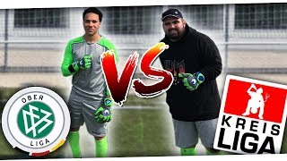 KEEPER BATTLE vs ABONNENT!🔥 METI vs OBERLIGA TORWART! ⚽ PMTV
