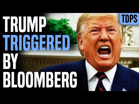 Trump Triggered DAILY by Bloomberg, Now Obsessed