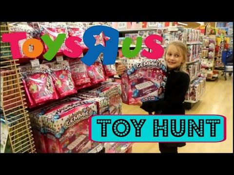 Squishy Mushy Toys R Us : Toy Hunt at Wallmart and Toys R Us Fun Kids Stuff - YouTube