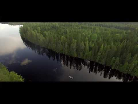 drone shots in Finland