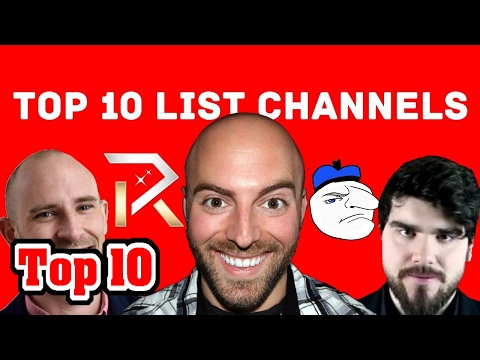 Top 10 Best YouTube List Channels