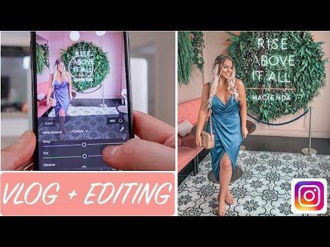 How I EDIT My Instagram Photos & My 25th Birthday VLOG!