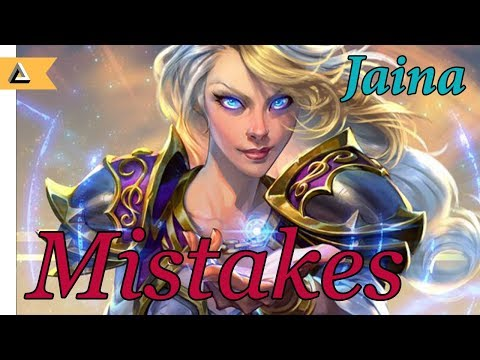 4 Mistakes You Might Be Making On Jaina (With Build)