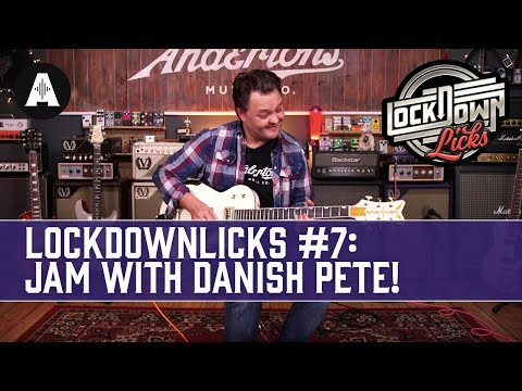 Jam Along With Danish Pete - Andertons LockDownLicks #7 (Rock Ballad Loop In A)