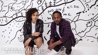 connectYoutube - Kendrick Lamar and Shantell Martin: Live in Miami | American Express Music