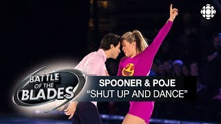 Natalie Spooner and Andrew Poje perform to Shut Up and Dance by Walk the Moon on Oct.24, Episode 6 of Battle of the Blades. The charities they are ...