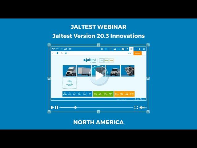 JALTEST WEBINAR | Jaltest 20.3 Innovations (North America)