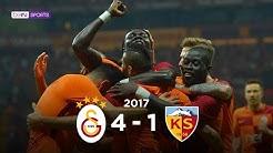Galatasaray 4 - 1 Kayserispor #Özet