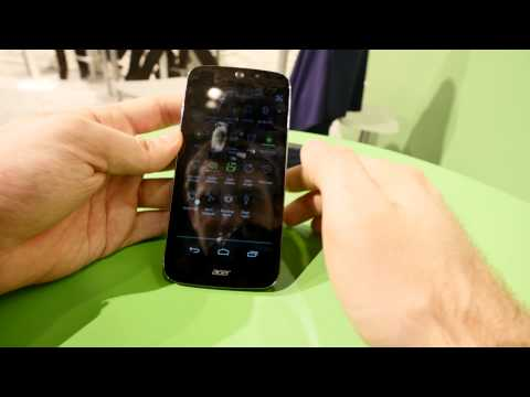 Acer Liquid Jade Z Hands On [4K]