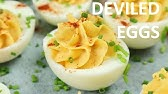 How To Make Colorful Deviled Eggs Food Network Youtube