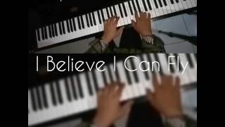 Beautiful Piano solo I Believe I Can Fly Davi Bachroedin By R Kelly 1996