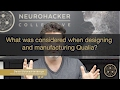 What was considered when designing and manufacturing Qualia?