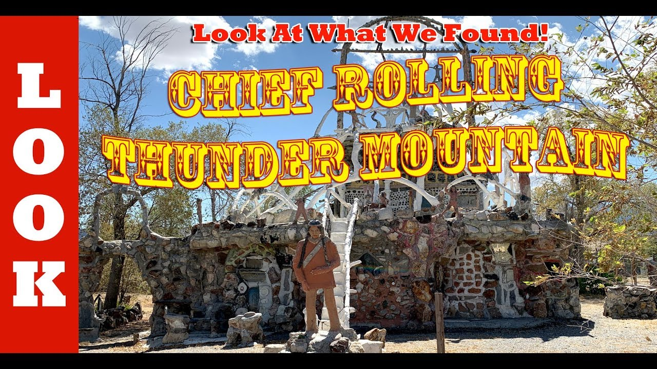 Return to Chief Rolling Thunder Mountain's amazing house