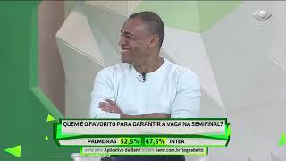 Raio-x entre Verdão e Inter deixa comentaristas indecisos