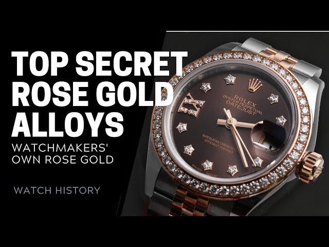 Rolex Everose, Sedna Gold, Panerai Goldtech - Top Secret Rose Gold Alloys | SwissWatchExpo
