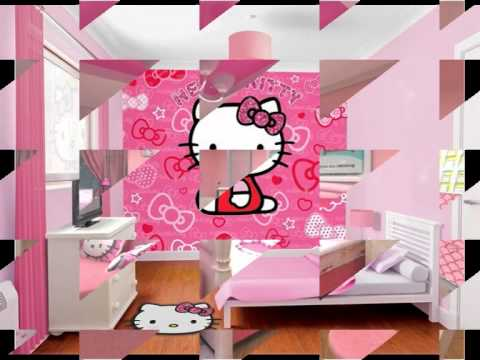 desain kamar hello kitty terbaru  YouTube