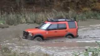LR3 Land Rover Discovery 3, water crossing, hill ascend & descend, Tong, disco3.com, D3