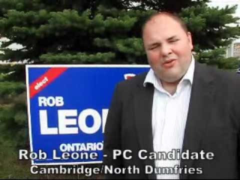 Rob Leone PC Candidate Cambridge North Dumfries