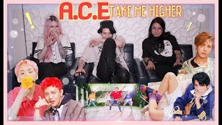 A.C.E(에이스) - TAKE ME HIGHER MV REACTION!! l FIRST TIME REACT AND WE ARE NOW OBSESSED l