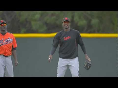 Baltimore Orioles Center Fielder Adam Jones POV!