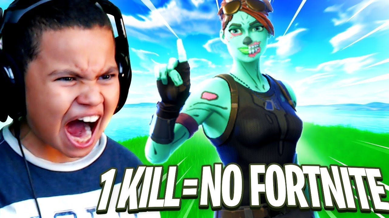 1-kill-1-day-my-little-brother-cant-play-fortnite-most-intense-game-ever-fortnite-battle-royale