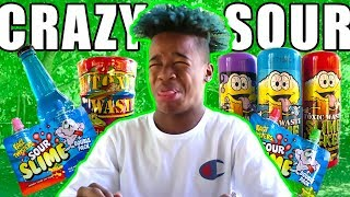 EXTREME SOUR CANDY CHALLENGE!!!