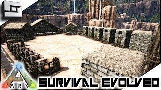 Dino Cemetery Building! ARK: Survival Evolved ( Ark Ragnarok Map ) E17