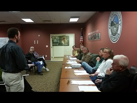 Pickens County Planning Commission ~ January 11, 2016