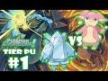 POKEMON COMBATES SHOWDOWN #1: TIER PU ★REGICE VS AUDINO TROLL★