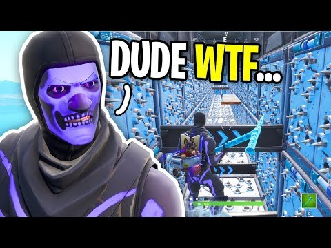 I FINALLY Tried Cizzorz Deathrun Course on Fortnite... (big mistake)